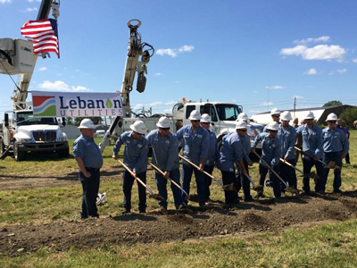 Lebanon Utilities Breaks Ground for New Power Operations Building